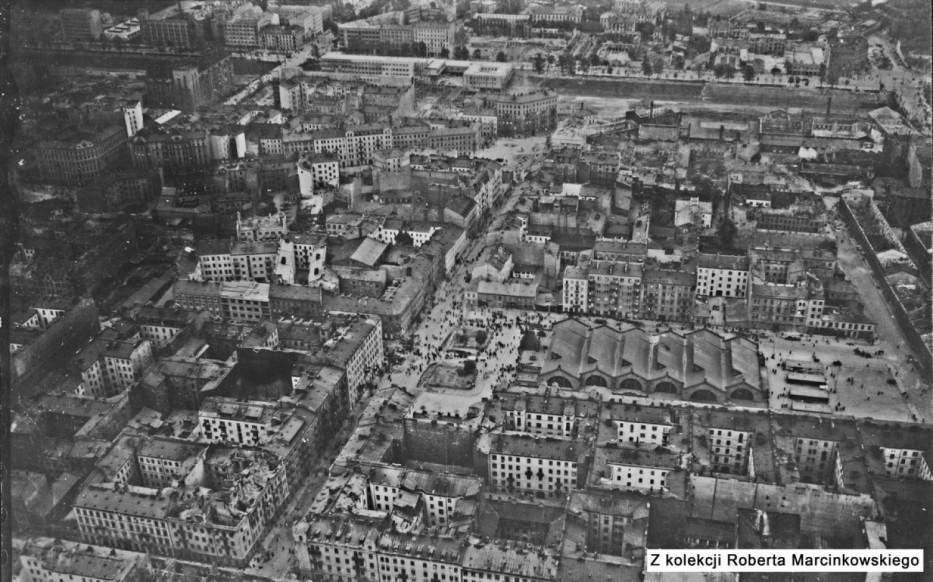 Warszawa z 1939 roku na niemieckich zdjęciach lotniczych