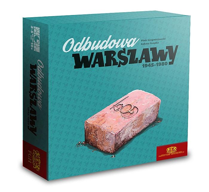 Odbudowa Warszawy 1945-1980 - wizualizacja