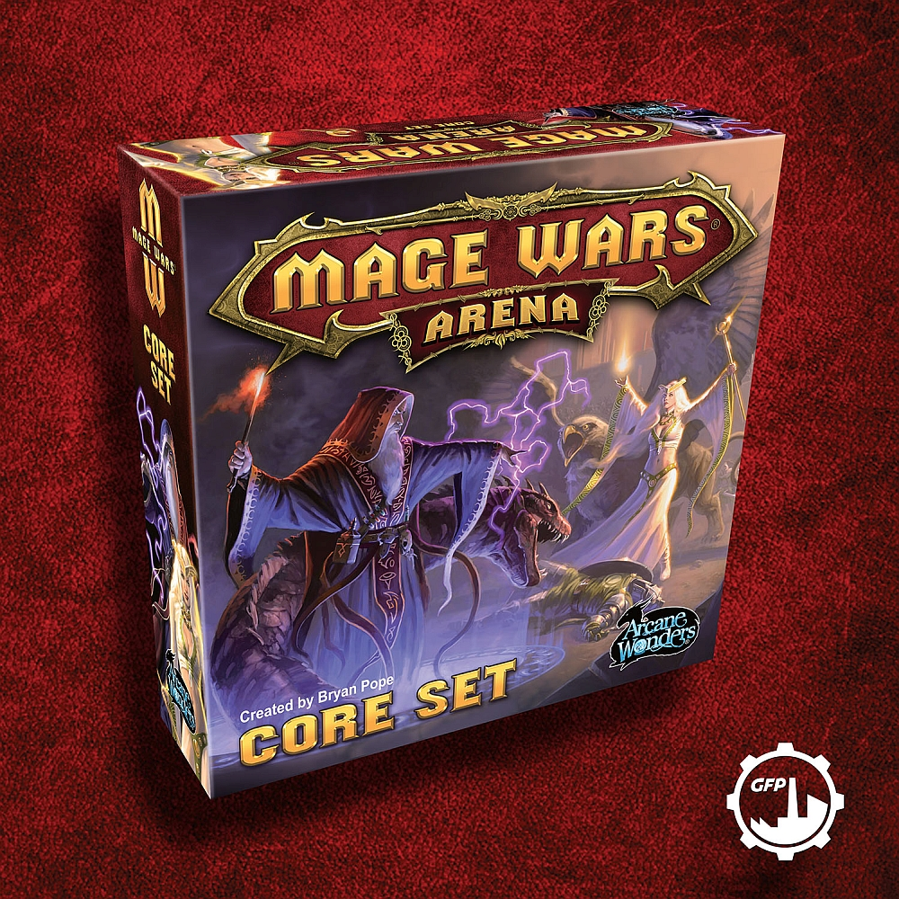 MAGE WARS BOX 3D ENG