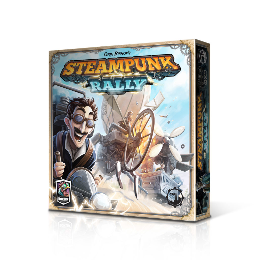STEAMPUNK RALLY BOX new 3D